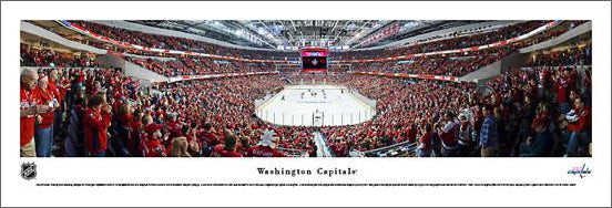 Washington Capitals Verizon Center 2013 Playoffs Panoramic Poster Print - Blakeway