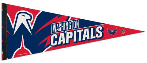 Washington Capitals Official NHL Premium Felt Pennant - Wincraft