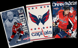 COMBO: Washington Capitals NHL Hockey 3-Poster Combo (Oshie, Logo, Ovechkin)