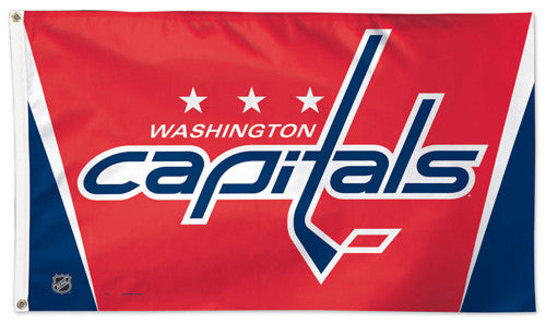 Washington Capitals Official NHL Hockey Deluxe-Edition 3'x5' Flag - Wincraft Inc.