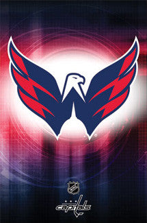 Washington Capitals Official NHL Hockey Logo Poster - Costacos Sports