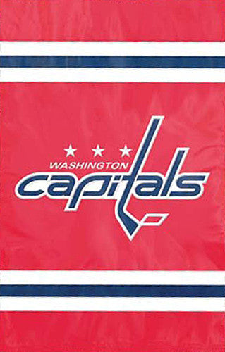 Washington Capitals Official NHL Hockey Premium Applique Team Banner Flag - Party Animal