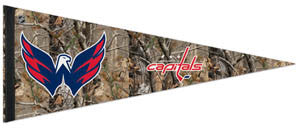 "Washington Capitals ""Backwoods"" (Realtree) Premium NHL Felt Pennant - Wincraft"