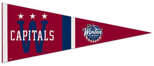 Washington Capitals 2015 Winter Classic Premium Felt Collector's Pennant - Wincraft