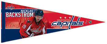 Nicklas Backstrom Premium Felt Collector's Pennant (L.E. /2,010)
