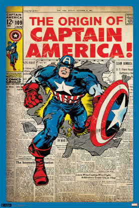 Captain America #109 (Jan. 1969) Official Cover Poster Reprint - Trends International