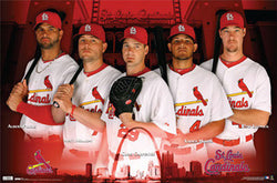 "St. Louis Cardinals ""Attitude"" (2010) Poster - Costacos Sports"