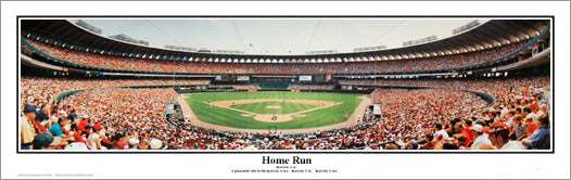 "Busch Stadium ""Home Run"" (1996) Panorama - Everlasting Images"