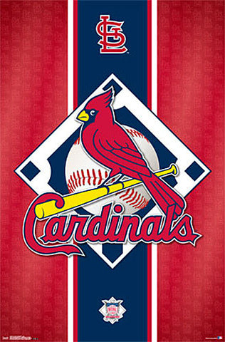 St. Louis Cardinals MLB Baseball Official Team Logo Poster - Trends International