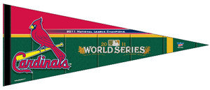 St. Louis Cardinals 2011 World Series Official MLB Commemorative Pennant - Wincraft Inc.