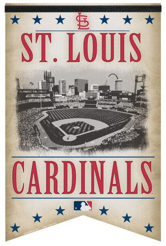 "St Louis Cardinals ""Classic Gameday"" Premium Felt Collector's Banner - Wincraft Inc."