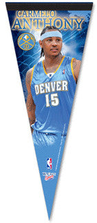 Carmelo Anthony Denver Nuggets Premium Felt Pennant /2,009
