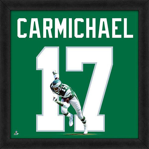 "Harold Carmichael ""Number 17"" Philadelphia Eagles NFL FRAMED 20x20 UNIFRAME PRINT - Photofile"