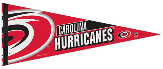 Carolina Hurricanes Official NHL Hockey Team Premium Felt Pennant - Wincraft