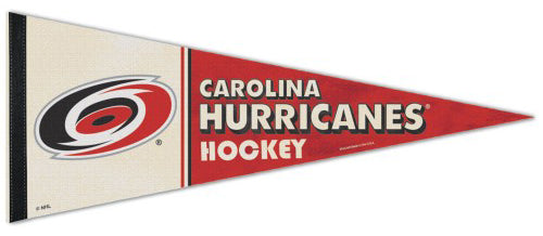 Carolina Hurricanes NHL Vintage Hockey Collection Premium Felt Collector's Pennant - Wincraft