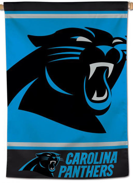 Carolina Panthers Official NFL Football Team Logo-Style 28x40 Wall BANNER - Wincraft Inc.