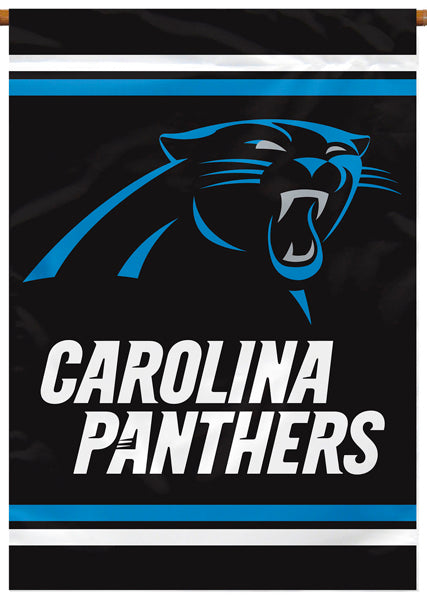 Carolina Panthers Official NFL 28x40 Banner Flag by Wincraft