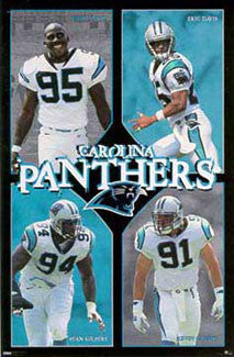 "Carolina Panthers ""Four Stars"" - Costacos 1998"