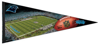 Carolina Panthers Gameday EXTRA-LARGE Premium Felt Pennant - Wincraft