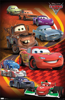 "Disney-Pixar Cars 2 ""Heavy Traffic"" - Trends International"