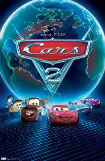 Cars 2 Official Movie Poster Design - Trends International
