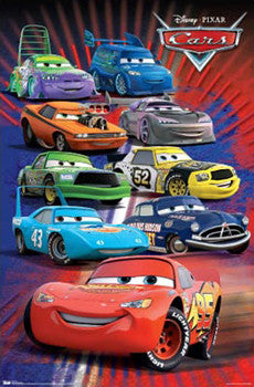 "Disney-Pixar Cars ""Supercharged"" Poster - Trends"