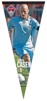 "Conor Casey ""MLS Action"" EXTRA-LARGE Premium Felt Pennant - Wincraft"