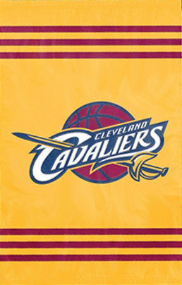 Cleveland Cavaliers Premium NBA Applique Banner Flag - Party Animal