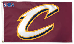 Cleveland Cavaliers Official NBA Basketball 3'x5' DELUXE Banner Flag - Wincraft Inc.