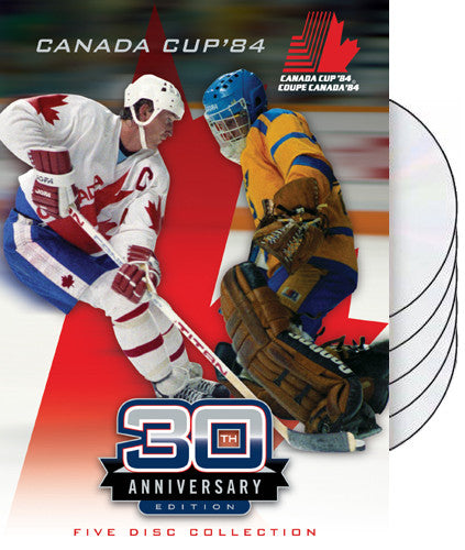DVD: Canada Cup 1984 Hockey Tournament 5-DVD Box Set
