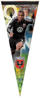 Charlie Davies MLS DC United Premium Felt Collector's Pennant
