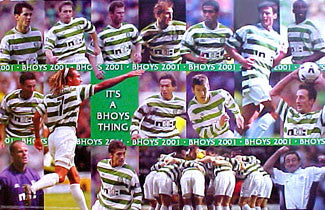 "Celtic F.C. ""Bhoys 2001"" - U.K. 2001"