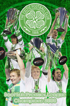 "Celtic FC ""SPL Champs 2008"" - GB Eye Inc."