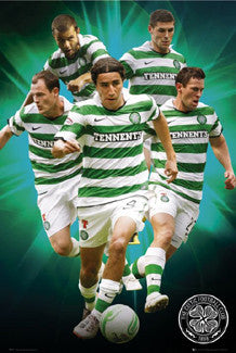 "Glasgow Celtic ""Fab Five"" - GB Eye (UK) 2010/11"