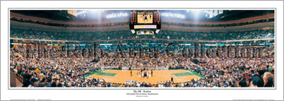 "Boston Celtics ""Tip Off"" (Fleet Center) - Everlasting Images"