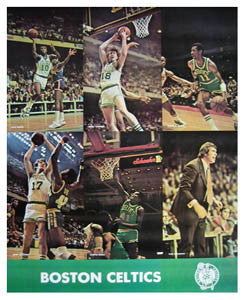 "Boston Celtics ""Action '77"" - Marathon Graphics 1977"