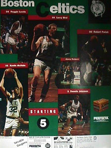 "Boston Celtics ""Starting Five"" - Kodak/Celtics 1989"