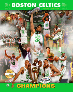 Boston Celtics 2008 NBA Champions Premium L.E./500 Commemorative Poster Print - Photofile