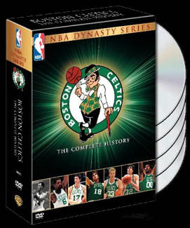 "DVD SET: Boston Celtics ""Dynasty Series"" Collector's Set"