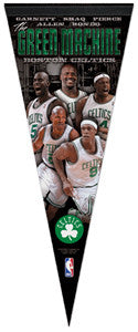 "Boston Celtics ""Green Machine"" 5-Player Premium Felt Pennant (2011)"
