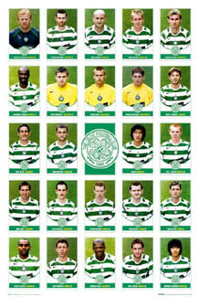 "Glasgow Celtic ""Super 24"" (2005/06) - GB Posters"