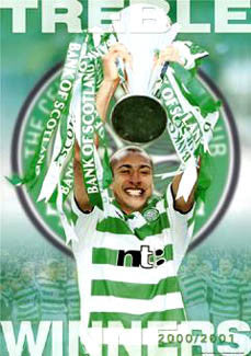 "Glasgow Celtic ""Treble Winners"" - GB 2001"