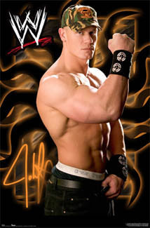 "John Cena ""Never Quit"" WWE Wrestling Poster - Trends International 2006"