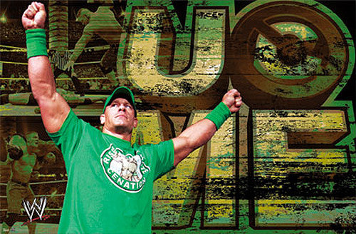 "John Cena ""U O Me"" Official WWE Wrestling Poster - Trends International 2012"