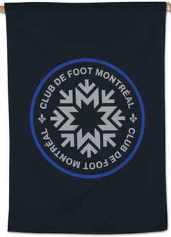 CF Montreal Official MLS Soccer Team Logo Wall BANNER - Wincraft Inc.