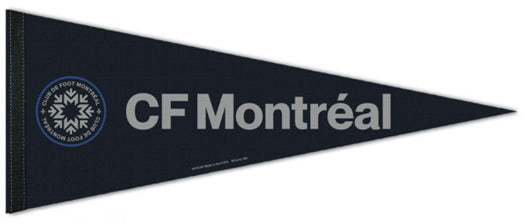 CF Montreal Official MLS Soccer Club Premium Felt Pennant - Wincraft Inc.