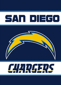 San Diego Chargers Premium Banner Flag - BSI Products