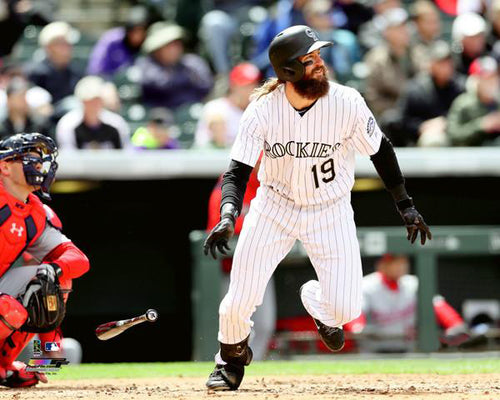 "Charlie Blackmon ""Hitting Machine"" Colorado Rockies 2017 Premium Poster Print - Photofile 16x20"