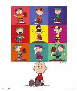 Peanuts Charlie Brown Baseball Collage - OSP Publishing