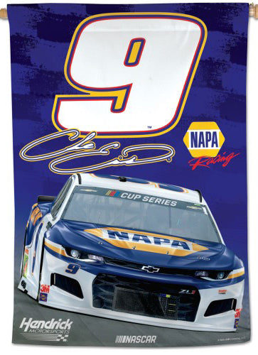 Chase Elliott Official NASCAR NAPA #9 Race Action Wall BANNER - Wincraft 2020